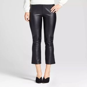 NEW Plus Size Who What Wear Faux Leather Leggings